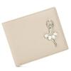 Пугало (Мексиканский) алмазов сладкий леди кошелек первый слой кожи короткий параграф два раза бумажник кошелек розовый балет девушка MXD30494L-03 балет щелкунчик