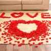Sheng Sheng Shang Shang Shang свадьба поставок симуляция лепестки роз брак брак брак стол белый брак кровать цветок красный цветок лепестки 200