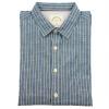 BIIFREE Мужчины с длинными рукавами и рубашка в полоску 100% хлопок c h i c платье рубашка в полоску
