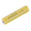 1 х 600mah 1,2 в Ni-компактного диска AAA Аккумулятор для питания Подышка зарядное устройство duracell cef14 аккумуляторы 2 х aa2500 mah 2 х aaa850 mah