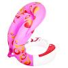Бао Ле четвертое поколение змея плавания плавать кольцо ребенка плавать кольцо надувного утолщение детей до взрослых фиолетового случайных волос кольца жизни буй XL Рост 165-180cm паяльник bao workers in taiwan pd 372 25mm