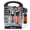 Расширение представляет собой (Tactix) 900154 55 член семьи прошествовал наборы инструментов инструмент набор виджетов бытовой ручной инструмент установлен состав семьи SET