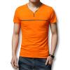 Футболки мужские футболки 2016 лето с коротким рукавом мужчины футболки хлопок V-образным вырезом мужчины футболки 3 цвета вскользь тонкий подходит