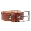 Lindenmann (Lindenmann) men Germany imported leisure business needle buckle belt belt 610-22 coffee color