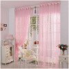 MyMei Creative Room Fashion Print Flower Voile Door Curtain Window Room Curtain