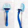 Настенный пластиковый ванной бритвы бритва держатель Купула бритвы шапки стойки