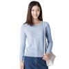 Инь Человек (ИНМАН) с длинными рукавами пуловер свитер светло-синий M 1863302258