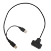 USB2.0 к SATA 22pin кабель для HDD 2,5 дюйма жесткий диск Solid State Drive hdd диск