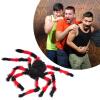 MyMei 2016 New Hot 75cm Big Plush Spider Halloween Terror Party Funning Joking Spiders Halloween Decoration Festival Supplies creative spider paper lantern halloween supply party decoration