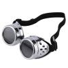 Cyber Goggles стимпанк очки год сбора винограда ретро Сварка Punk Готическая викторианская