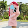 MyMei  Hot Hand Puppet Plush Toy Doll Stuffed Animal Horse Supersoft Short Plush Dolls 10pcs lot cartoon animal finger puppet finger toy finger doll baby dolls baby toys animal doll