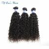 Волосы ELee 7A Перуанские вьющиеся волосы 3 комплекта Кудрявые кудрявые перуанские связки для волос Афро-кудрявые наращивания чело недорого волосы для наращивания