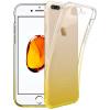 ESCASE Apple, iPhone 7plus телефон оболочки Выдерживает падение Apple, силикон телефон оболочки мягкая оболочка прозрачная защитная крышка 5,5 дюйма градиент Тиран золото телефон apple iphone 7 32gb a1778 как новый black
