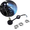 H4 фара SMD 360 ° Светодиодная лампа Фара для Harley мотоциклов венозол 360 капсулы 0 4 г