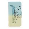 Перья и птицы Дизайн Кожа PU откидная крышка карточки бумажника держатель чехол для BQ Aquaris M4.5 семь цветов цветы дизайн кожа pu откидная крышка бумажника карты держатель чехол для bq aquaris m5