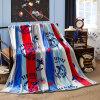 YingXin Домашний текстиль Печать Бархатное коралловое одеяло домашний кабинет