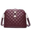 Коу Cnoles плеча сумки сумка женская сумка сумка Lingge маленький душистый ветер бордовый кожаные сумки B039 сумки эко пак дз сумка