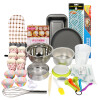 Baijie Хлебобулочные инструменты Хлебобулочные инструменты Set Cake Mold DIY Supplies Tools WSP-518A