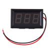 Мини цифровой вольтметр 2.5-30V Красный светодиод автомобилей Напряжение двигателя метр панели радиоуправляемый напряжение lipo батареи метр тестер индикатор 2 6 клеток светодиодные панели вольтметр