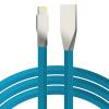 RND комбинированный сплав цинка совместимый с Apple, Эндрюс линии передачи данных зарядный кабель 1 метр Синий orico orico lte 10 apple зарядный кабель эндрюс эндрюс lightning двойной комбинированный многофункциональный usb кабель для зарядки 1 метр синий