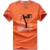 Jeep щит мужские случайные короткими рукавами футболки диких вокруг шеи футболку D9261 оранжевый 2XL playboy playboy майках мужской моды случайные короткими рукавами вокруг шеи футболку 17001pl1714 серый 2xl