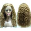 N.L.W.европейского кружева парики # 27 блондинка цвет волос парики из искусственных волос где