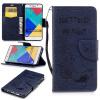 Классическая флип-обложка с тиснением Deep Blue Bear с функцией подставки и слотом для кредитных карт для SAMSUNG Galaxy A5 2016/A510 ��ылесос с контейнером samsung vcdc20dv blue