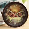 Reida часы Творческий 10 дюймов Сверхбесшумные Luminous Спальня Гостиная Часы настенные
