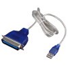 Новый USB в параллельный IEEE 1284 36-контактный адаптер принтера Подключение кабеля CN36