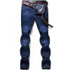 Джинсы Щипцы Джинсы Мужские повседневные хлопок Модные джинсы D3A51 Cowboy Blue 40 джинсы