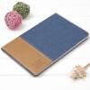 Превосходные яблоки iPad mini4 защитная крышка / оболочка легкая капля mini4 интеллектуальные бездействующие плоские кожаные сапоги гладкие серии ковбой синий кожаные сапоги