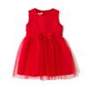 Fuluo чо Flordeer французская детская одежда девочек сплошной цвет чистой вуаль качели платье F6021 Красный 110 ai fuluo iflow