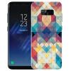 Yomo Samsung S8 плюс телефон оболочки мобильный телефон оболочки мобильный телефон защитный рукав s8plus рельеф текстуры коры Mosaic телефон