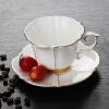 Костяной фарфор Кружка кофе Yajie Cleaning Kit Singles Continental позолотой два комплекта кофейная чашка (чашка диска с) Английский красный кубок суда