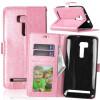 Pink Style Classic Flip Cover с функцией подставки и слотом для кредитных карт для Asus ZenFone Zoom ZX551ML чехол для смартфона asus для zenfone zoom zx551ml leather case оранжевый 90ac0100 bbc005 90ac0100 bbc005