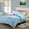 Итальянский Seoul Man одеяло хлопок одеяло постельные принадлежности одеяло одинокий цветок 160 * 210см