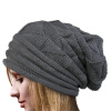 цена на MyMei Women's Winter Beanie Knit Crochet Ski Hat Oversized Cap Hat Warm