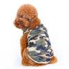 Камуфляж жилет летней одежды Тедди Бишон Померанский собака кошка животное одежда S камуфляж жилет летней одежды тедди бишон померанский собака кошка животное одежда s