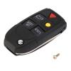 5 Кнопка Remote Case Fob Флип Key Shell подходят для VOLVO S60 S80 V70 XC70 XC90