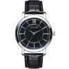 Julius часы моды серии бамбук шаблон ремень мужской кожа водонепроницаемый кварцевые часы черный пояс черный JA-808MB цена и фото