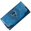 Dougu глаз кошелек женские длинные случайные вечерние сумки в Европе и Америке заклепки универсального сцепление QB007 черных фирму действующую в европе