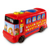Vtech VTech раннего детства обучающие игрушки алфавит из 26 букв автобус английский машинного обучения Детская игрушка автомобиль vtech vtech младенца младенцев и детей младшего возраста радиоуправляемые игрушки цифровые обучения музыки раннего детства обучающие игрушки