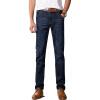 GEEDO талии джинсы бизнес случайный джинсы мода темно-синий 9006 28