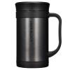 Блокировка и блокировка Вакуумная чашка для чашек Кубок для бизнеса Кубок из нержавеющей стали Черный 400 мл Изоляционная чашка LHC4030B чашка для яйца colour caro