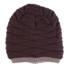 Мужчины Женщины Beanie Knit Cap Ski Hip-Hop Пустой цвет зимы теплая Unisex Wool Hat winter unisex knitted wool beanies hat women knit colorful striped hip hop bonnet cap men casual add velvet turban skullies muts