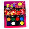 MyMei Face Paint Platte Body Painting Set Crayon Party Clown Kids Oil Art 24 colors kid crayon oil pastel drawing set count box round shape soft graffiti children artist school supplies starter kit