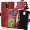 Браун Стиль Классический Флип Обложка с функцией подставки и слот для кредитных карт для Lenovo VIBE P1M цены онлайн