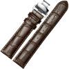 Отличный продукт JEAYOU кожаный ремешок часы кожаный ремешок универсальный мужской ремень кожи бабочки пряжки 19AZP04
