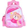 Оксфордский университет (UNIVERSITY OF OXFORD) Детский мешок детей легкий простой простой рюкзак для отдыха детский сад J079B розовый