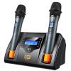 Кей плавающей лягушки (KFW) WK-U320 один с двумя U беспроводной микрофон микрофон микрофон KTV дома караоке перезаряжаемая нормально